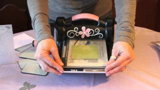 Come usare la Big Shot: fustelle ed embossing folders