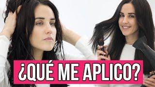 ¿QUÉ ME APLICO EN EL PELO? | MI RUTINA DE CABELLO REAL