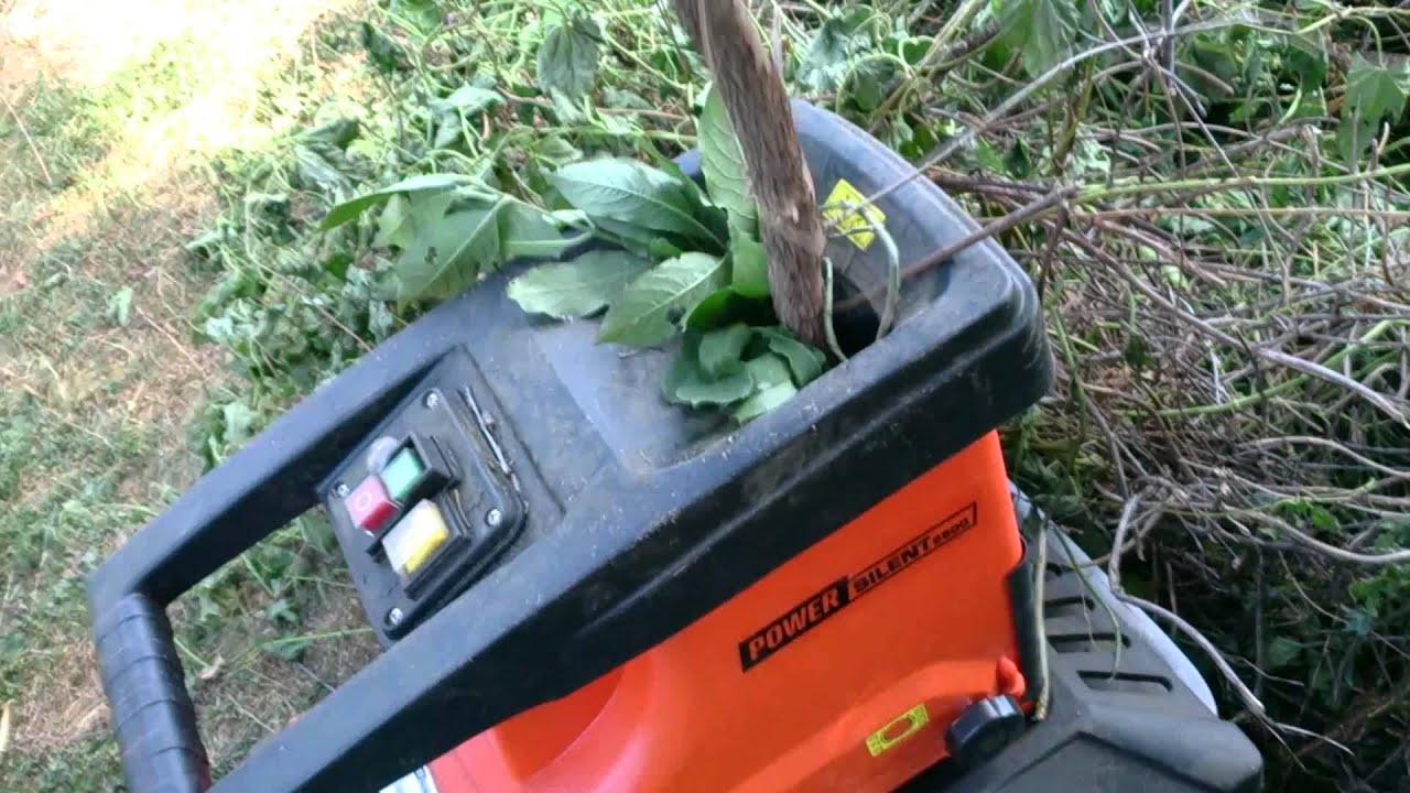 Mountfield Garden Shredder
