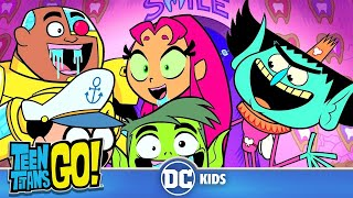 Teen Titans Go! | Tooth Fairy Crunch! | DC Kids