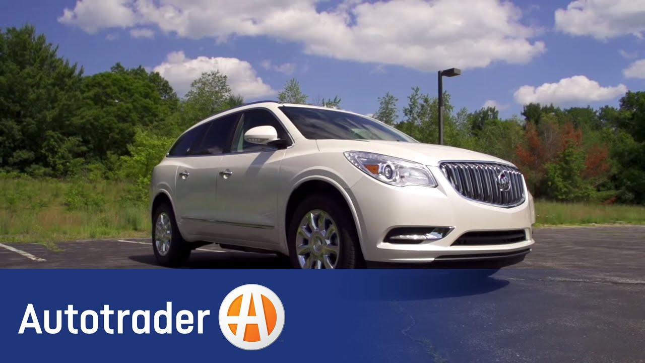 2013 buick enclave - luxury suv | new car review | autotrader