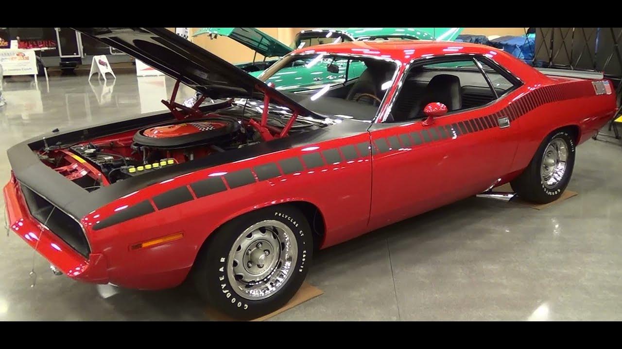 1970 AAR Cuda 340 Six Pack Pigeon Forge Rod Run 2014 - YouTube