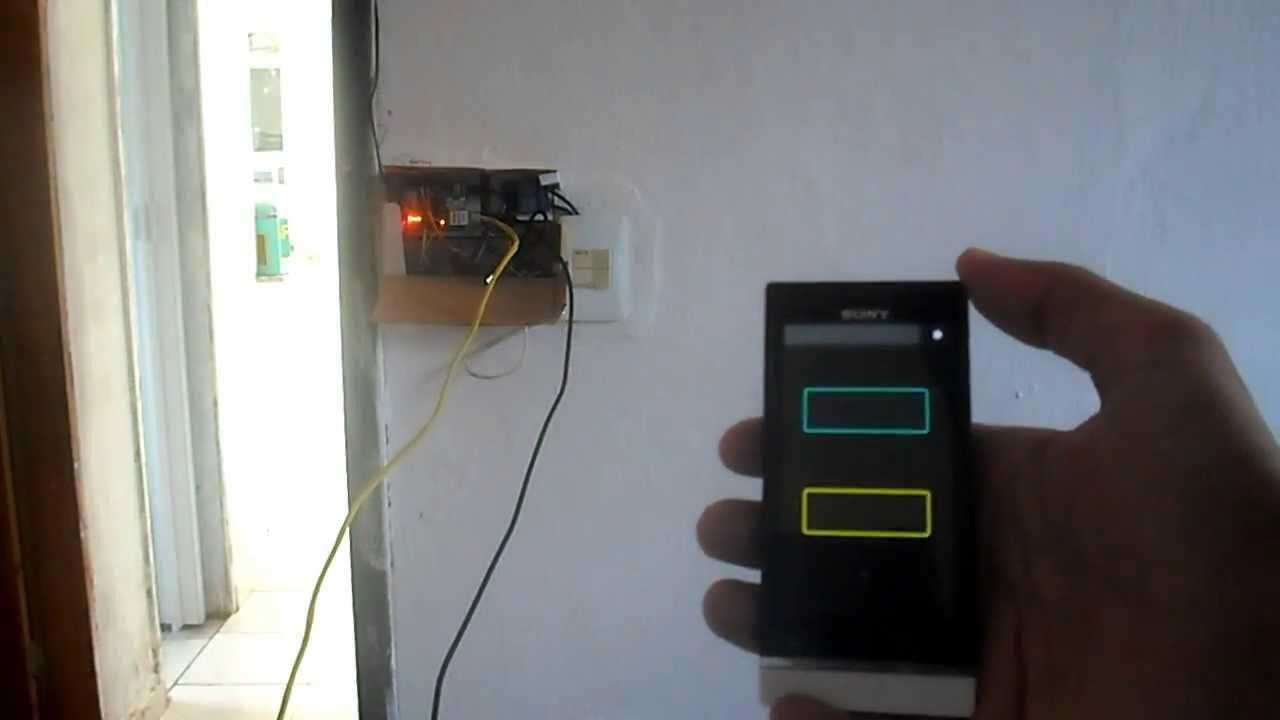Automação residencial arduino shield ethernet