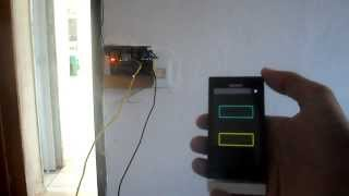Automação Residencial - Arduino + Shield Ethernet + Android