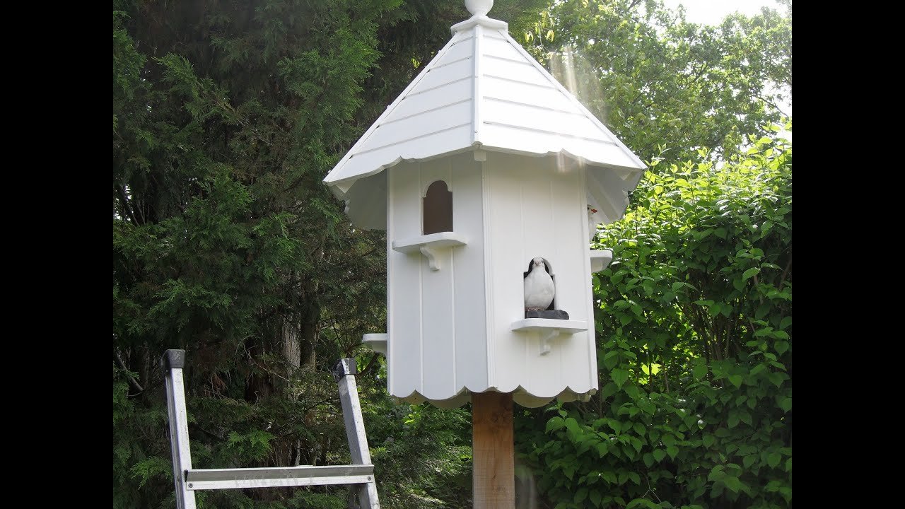 How To Build A Dovecote Part 2 Youtube
