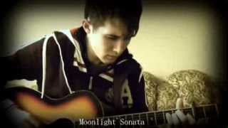 Лунная соната на гитаре ( Moonlight sonata on guitar )