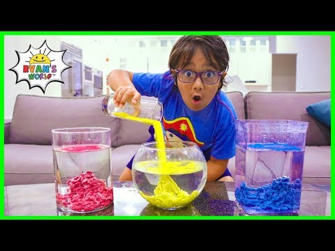 SAND THAT NEVER GET WET |  Science Experiments for kids!!!