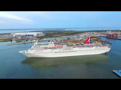 Carnival Fantasy-First cruise out of Mobile 11/9/16