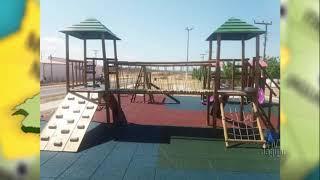 Alto Santo 'Brinquedopraça' novo atrativo de lazer para as crianças da comunidade de Jardim