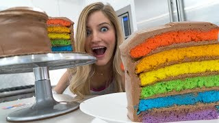 failzoom.com - 🌈 How to make a Rainbow Cake!