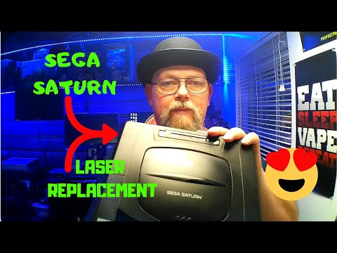 How To Replace A Laser Sega Saturn – Disassembly – Repair & Replace