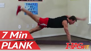 7 Minute Plank Workout for Flat Abs for Men & Women - Plank Exercises for Abs
