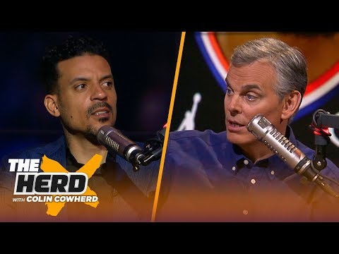 Matt Barnes: Kevin Durant is better than LeBron right now, talks Westbrook & AD | NBA | THE HERD thumbnail