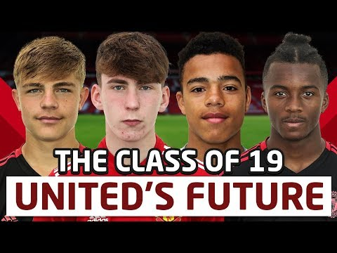 Manchester United Class of 2019 - U18 Academy Introduction