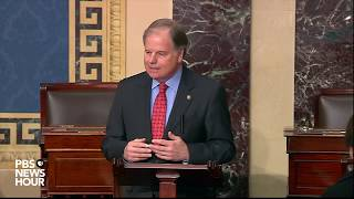 WATCH: Sen. Jones' full statement on Trump's impeachment trial | Trump impeachment trial