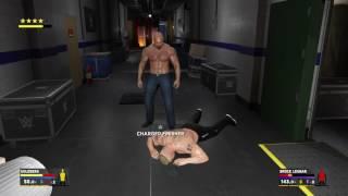 Video WWE 2K17- Goldberg vs Brock Lesnar Backstage Brawl!!!!! download MP3, 3GP, MP4, WEBM, AVI, FLV Maret 2017