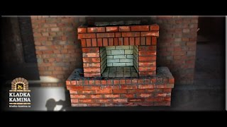 Встроенный камин в стену(Монтаж кирпичного камина Кладка каминов встроенных в стену. Ростов-на-Дону +7(904) 447 80 10 ----------------------------------------..., 2015-01-10T22:42:50.000Z)