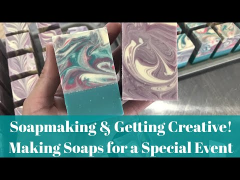 Soapmaking and Getting Creative! Exclusive Soaps