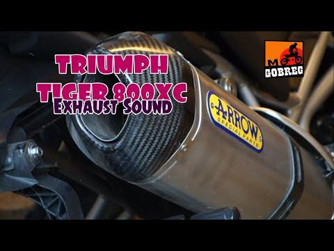 Triumph Tiger 800XC Exhaust Sound: Akrapovic, Jeskap, Arrow, Yoshimura, LeoVince, Two Brothers