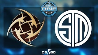 CS:GO - NiP vs. TSM [Inferno] - ESL One 2015 Katowice - Quarterfinal - Map 2