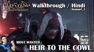 Batman Arkham Knight (PS4) Heir to the Cowl (Azrael) - Hindi Walkthrough / Gameplay