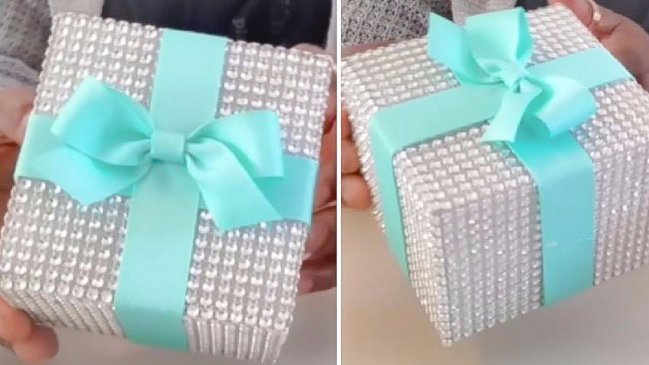Diy Tiffany Inspired Bling And Glam Wedding Box
