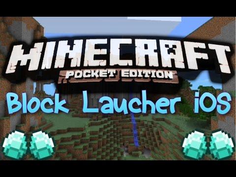 minecraft block launcher apple