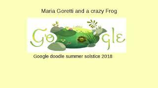 Maria Goretti and a crazy frog