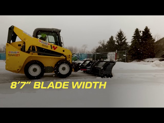 SnowEx Skid-Steer Plows