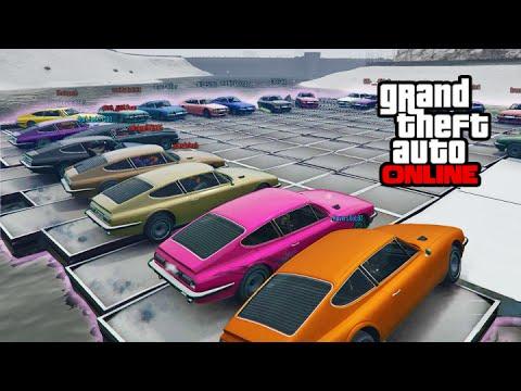 GTA V Online - Ps4 - BIG ASS Demolition Derby X2!