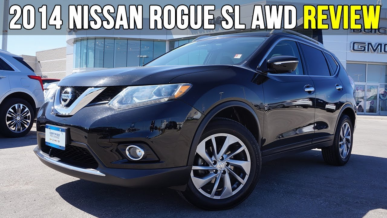 2014 Nissan Rogue SL AWD | Panoramic Sunroof, 360 Camera (In Depth Review)