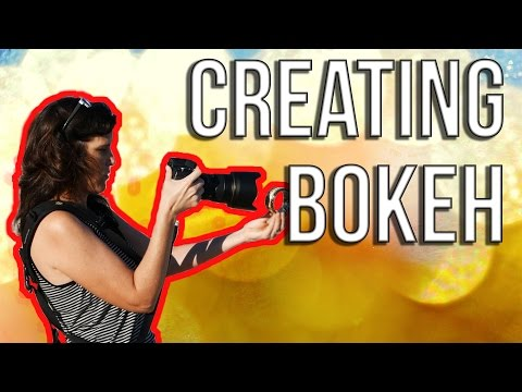 How To Create Foreground Bokeh Using Everyday Objects - #GETCRAFTYPHOTOGRAPHERS