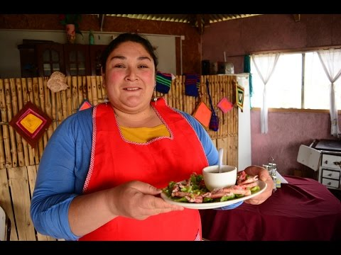 From the Garden to the Plate by Restaurant Fogón Vergara - Ancud, Chiloe Island, Chile