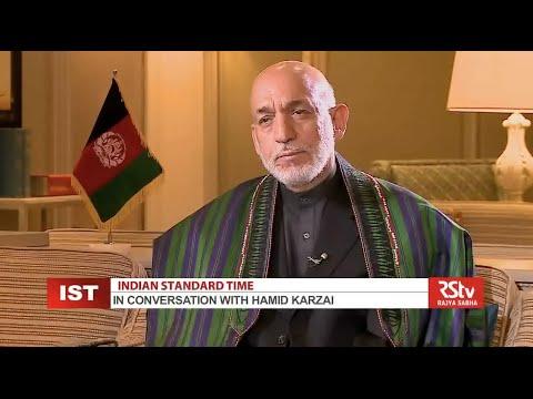 Hamid Karzai on Indian Standard Time