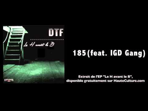 DTF - 185 feat. IGD Gang (Audio Officiel)