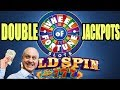DOUBLE JACKPOTS! 🎰Lucky 7's Wheel of Fortune Slots | The Big Jackpot | The Big Jackpot