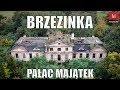 #Pałac w Brzezince z drona #Ruina #Brzezinka