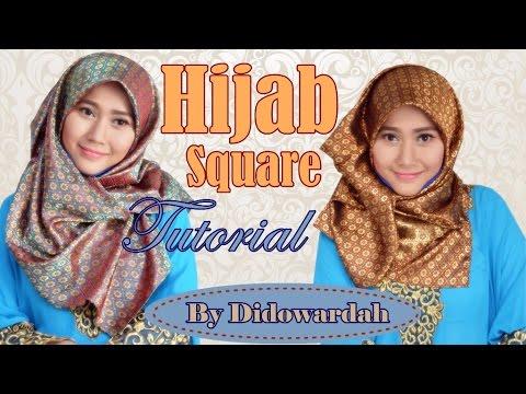 Tutorial Hijab Segi Empat Simple | Style Hijab by Didowardah #56