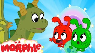 Magic Time Machine - Morphle and Orphle   Cartoons for Kids   Mila and Morphle   Morphle TV