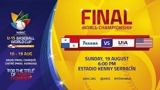 Final - U-15 Baseball World Cup 2018