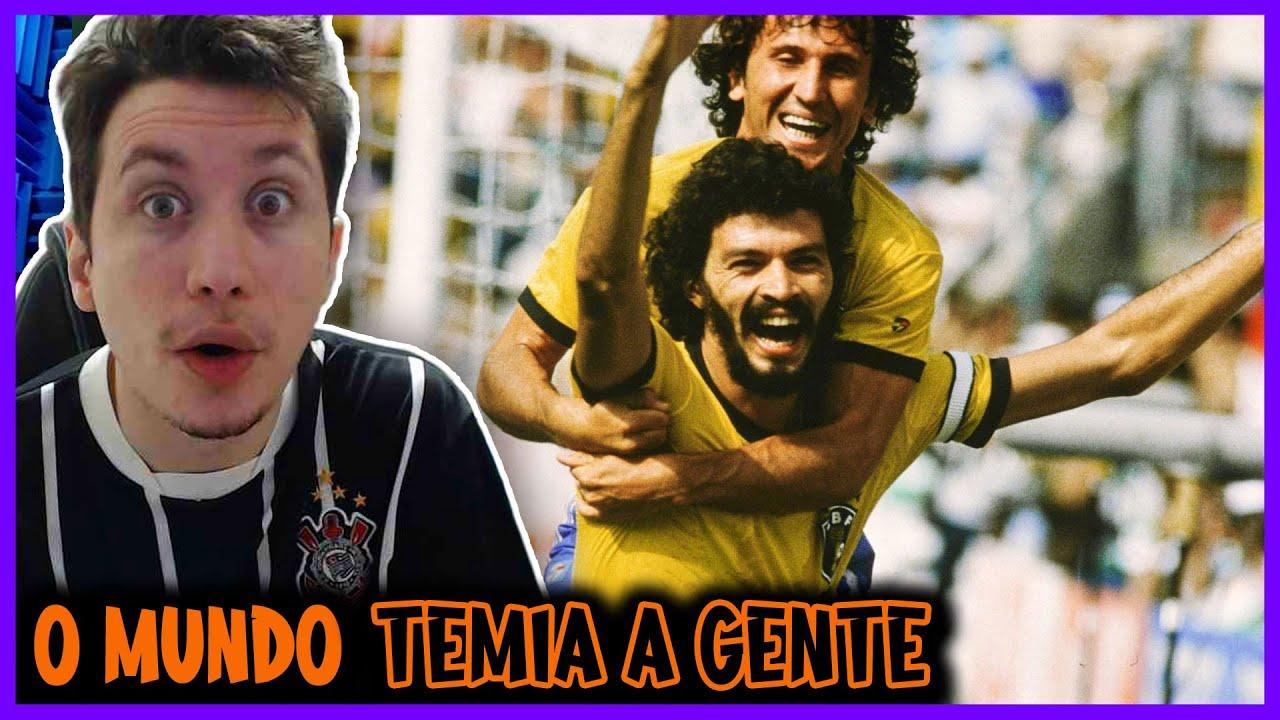 REACT Quando O Mundo Inteiro Tinha Medo Da Selecão Brasileira