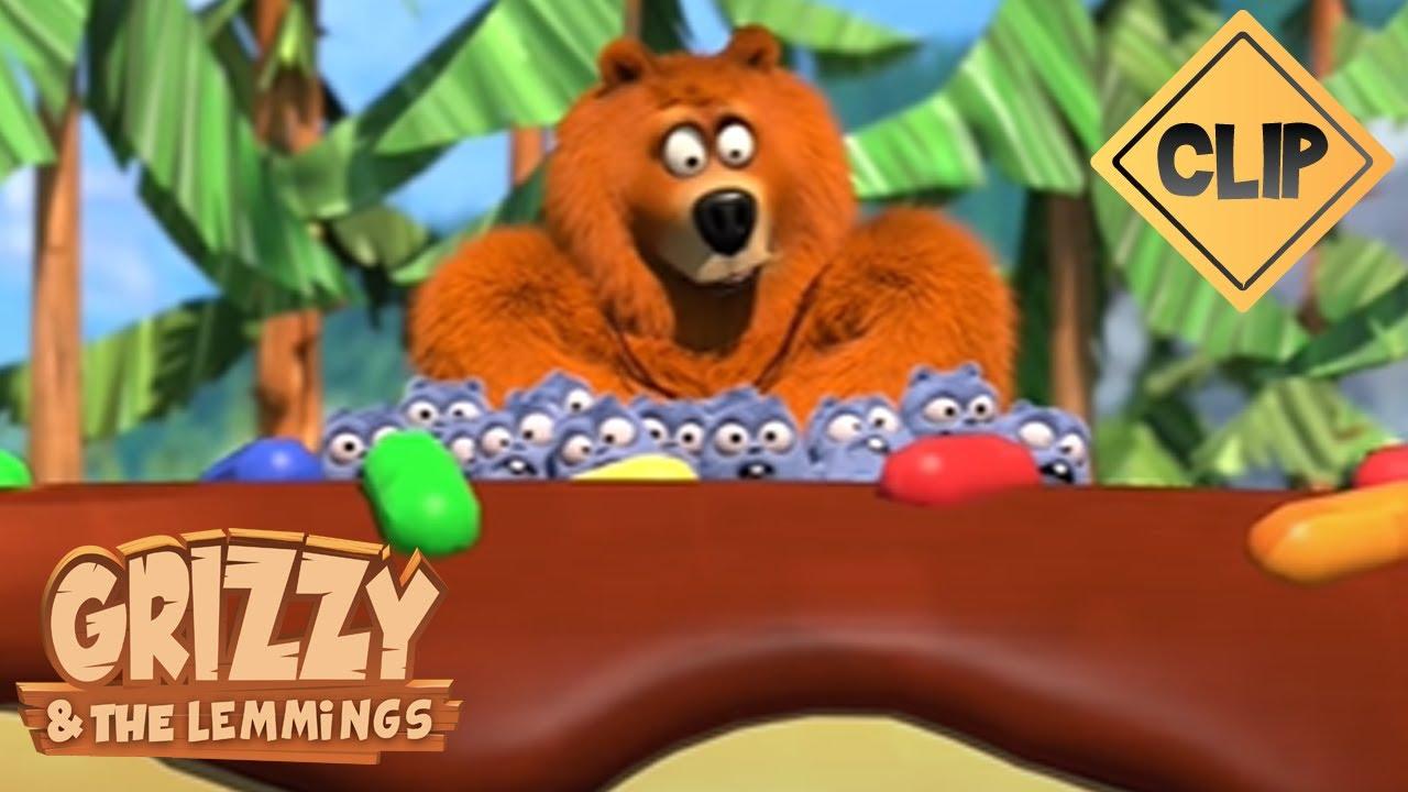 Deux Grizzy, un pot de Yummy, des Lemmings et une course poursuite !🐻🍯 - Grizzy & les Lemmings