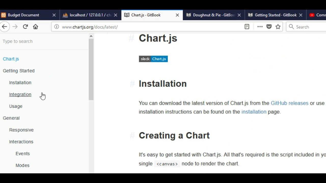 ChartJs with MySQL Database Data
