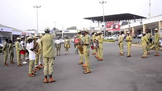 NYSC BAND KWARA plays Games of thrones (G.O.T) theme song