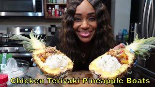 Video Cooking Shrimp and Chicken Teriyaki Pineapple Boats download MP3, 3GP, MP4, WEBM, AVI, FLV Agustus 2018