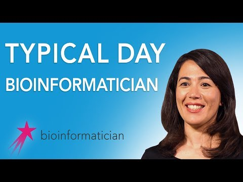 Bioinformatician: Typical Day - Amel Ghouila Career Girls Role Model