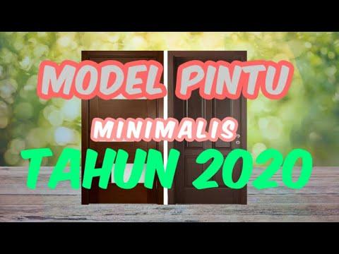 model pintu minimalis terbaru thn 2020 - youtube