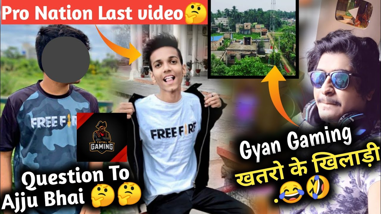 Gyan Gaming climbed dangerous ladder 😯| Pro Nation Last video || Question to Total Gaming