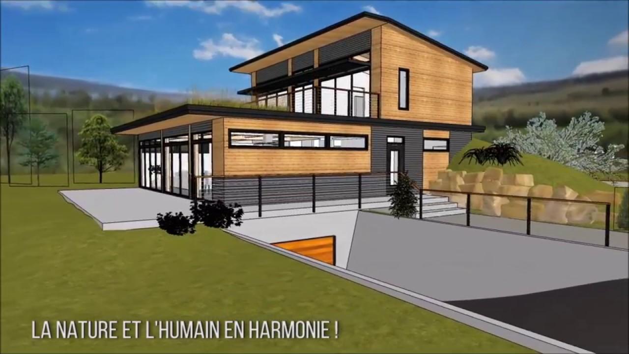 maison solaire passive eco hd youtube