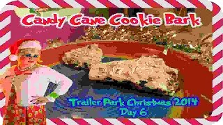 Candy Cane Cookie Bark : Day 7 Trailer Park Christmas